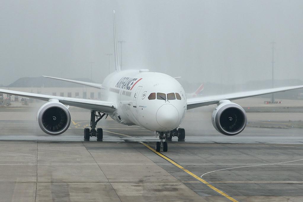 F-HRBA - B789 - Air France