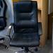 Black Chrome Swivel Chair