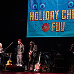 Tue, 29/11/2016 - 7:48pm - Holiday Cheer for FUV, WFUV Public Radio in New York City. Amos Lee & Friends, with Lucinda Williams, Corinne Bailey Rae and The Record Company. The Beacon Theatre, 11/30/2016. Photo by Gus Philippas.