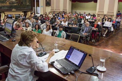 La Dra Mabel Bianco en la Cámara de Diputados