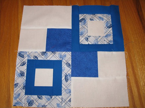 NuBee, April #8, for  sewscrappyquilts