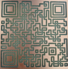 QR Codes in Copper by mikeysklar