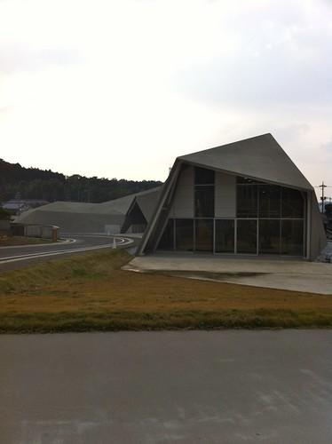 下関市川棚温泉交流センター 川棚の杜 Shimonoseki City Kawatana Community Center, Kawatana no Mori