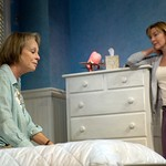 Maureen Anderman and Donna Bullock in Huntington Theatre Company's Rabbit Hole at the Boston University Theatre. Part of the 2006-2007 season. Photo: Eric Antoniou.