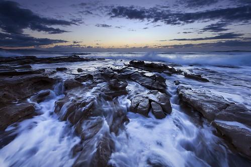 無料写真素材, 自然風景, 海, ビーチ・海岸, 青色・ブルー, 風景  オーストラリア