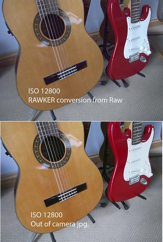 Olympus OM-D EM-5 Raw - ISO 12800