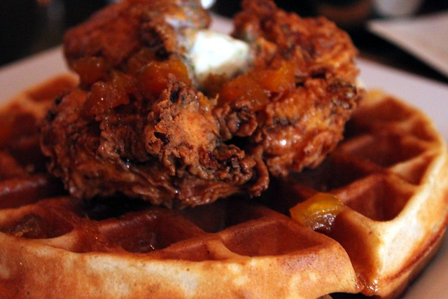 Chicken & Waffles - Wood & Vine