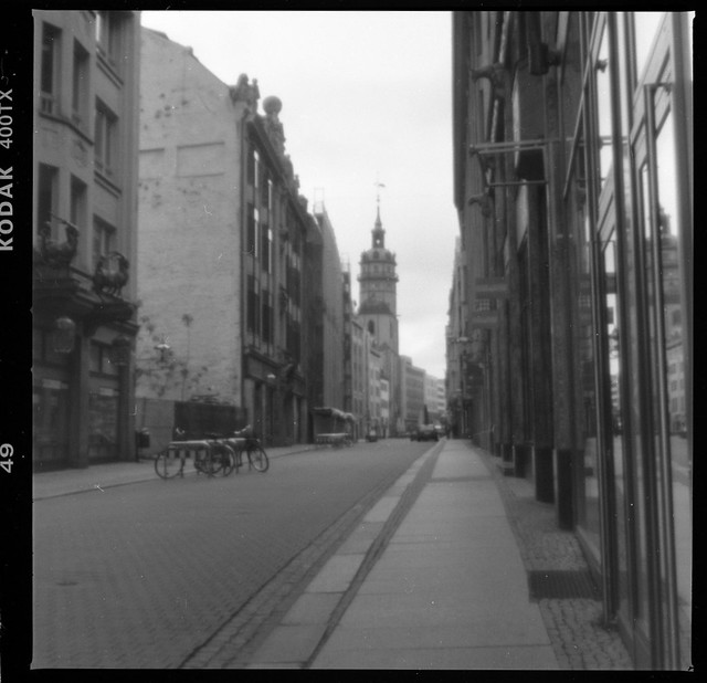 St. Nikolai Church by pinhole