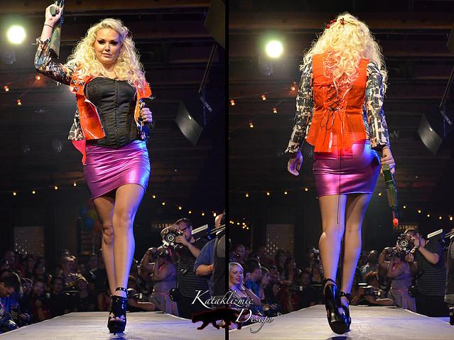 Looks Good An-Ya Fashion - Madame Trapeze Fashion Show 05-12-12