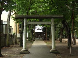 Image of 神明大神宮 near Hachiōji. 神社 jinja