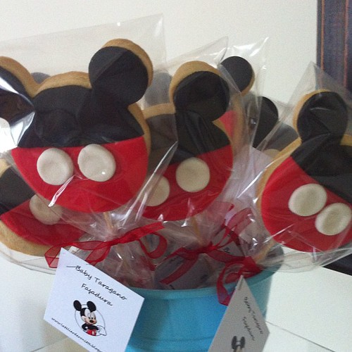 Mickey mouse fasadura kurabiyeleri by l'atelier de ronitte