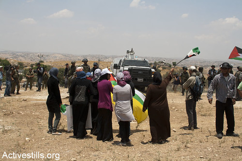 Susiya under threat of demolition, South Hebron, 22.06.2012