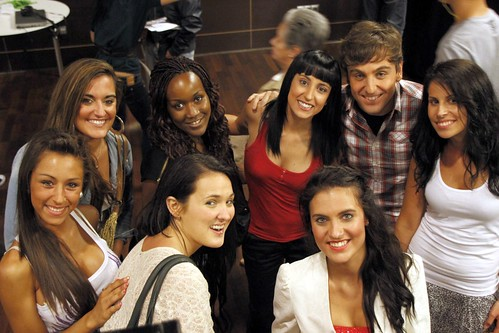 Amaia de la Sen y amigas del Taller de Teatro Anima Eskola