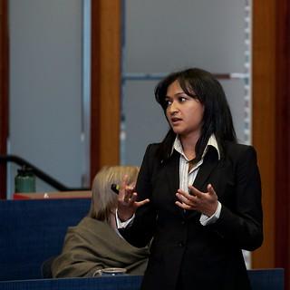 An image of Anuskha KC, MBA '13