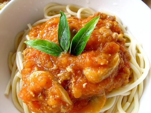 IMG_0943 Mushroom spaghetti