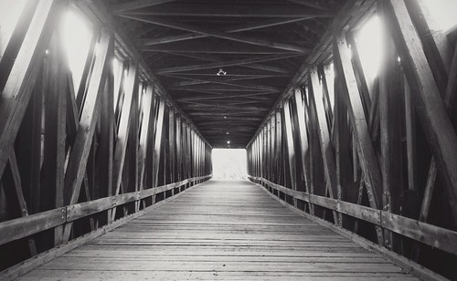 old ass wooden bridge like yeah