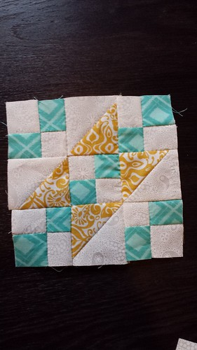 Hand Pieced Jacob's Ladder