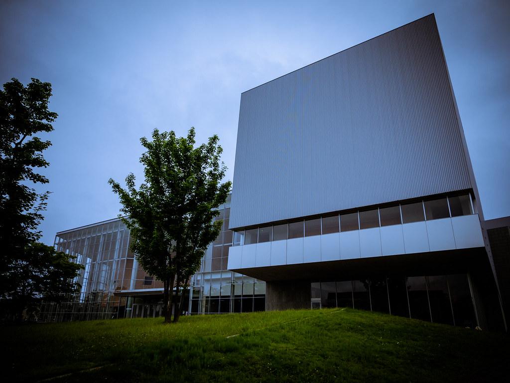 Natori city cultural center