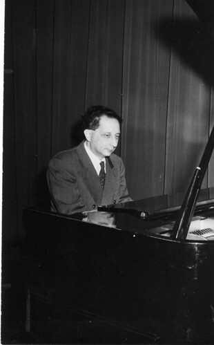 Rene Frank at Founders piano