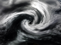 storm, cyclone, tropical cyclone, monochrome photography, wind wave, monochrome, black-and-white,