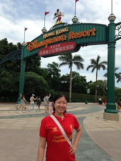 Entrance to HK Disneyland