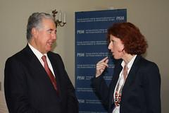 Bernardo Sepúlveda, Vicepresidente de la Corte Internacional de Justicia, dicta una conferencia magistral en Varsovia.