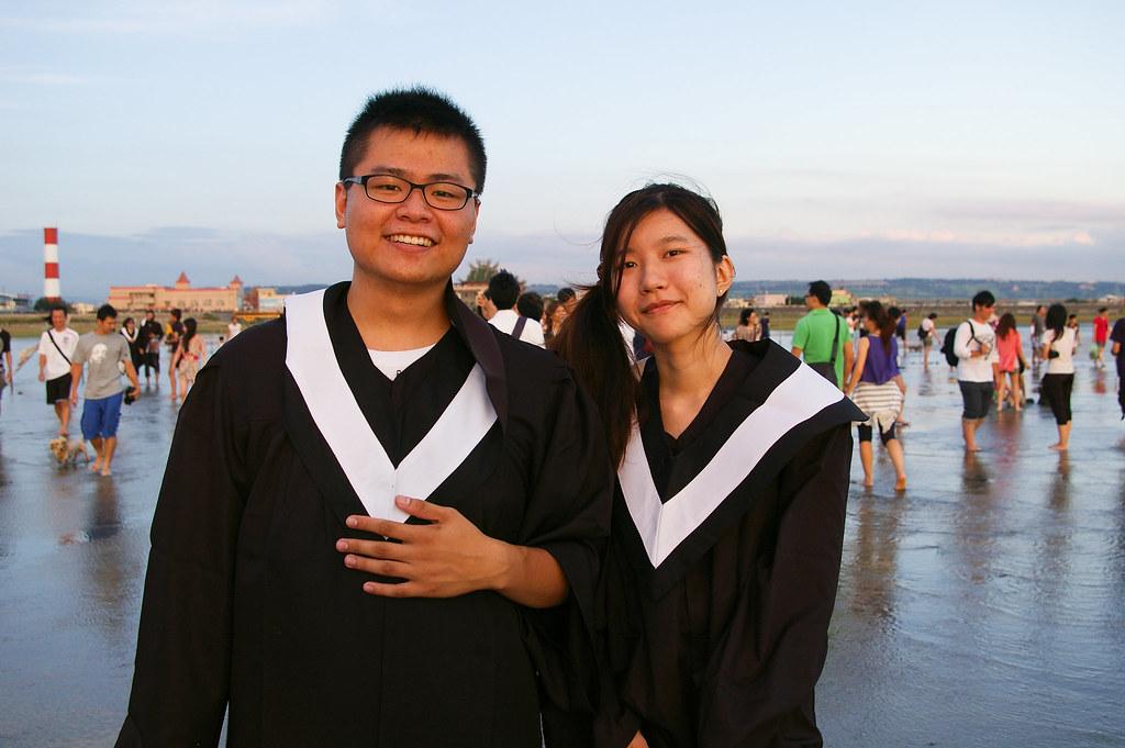 高美濕地 - 畢業前不專業學士照