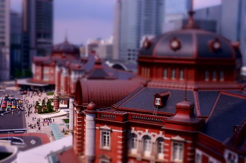 miniature Tokyo Station