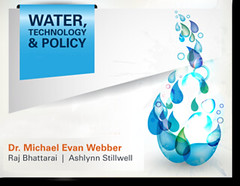 UT hosting Water Technology and Policy Conference in October