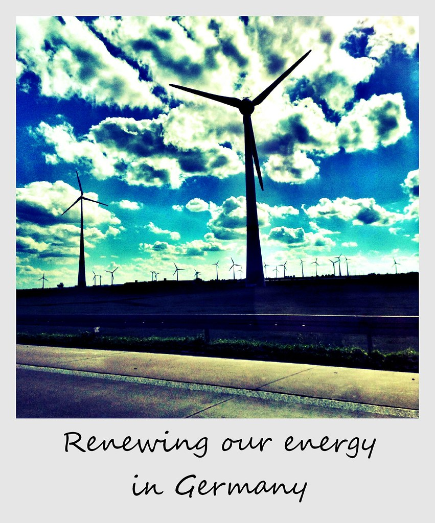 polaroid of the week germany wind turbines