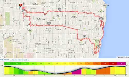 Today's awesome walk, 6.27 miles in 1:43 by christopher575