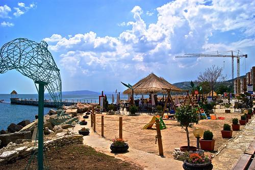 Sunny Balchik coast