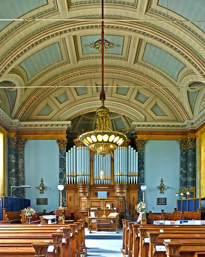 Congregational Church, Saltaire - Interior by Tim Green aka atoach