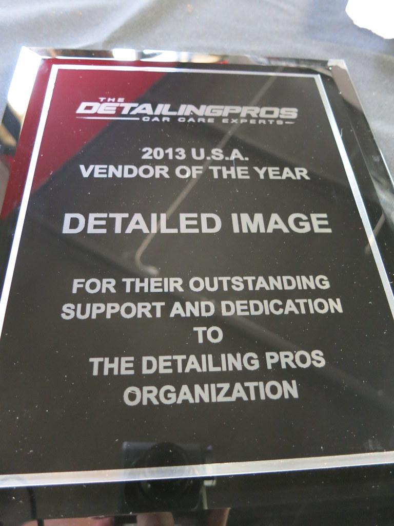 The Detailing Pros 2013 U.S.A. Vendor of the Year Detailed Image