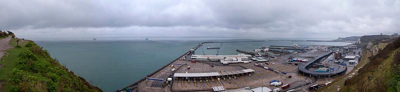 Panorama du Terminal ferry de Dover