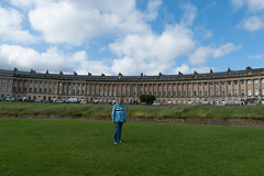 Urbanlegend at the Royal Crescent in Bath