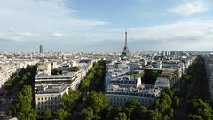 Bild: Blick vom Arc de Triomphe