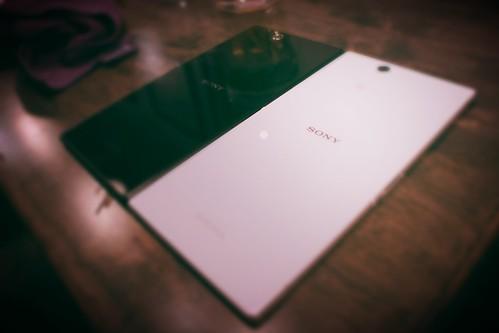 Sony Xperia Z Ultra Black and White