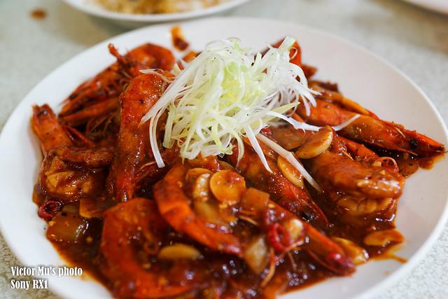 天津衛小米食堂 辣炒鮮蝦