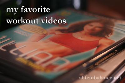 Favorite Workout Videos