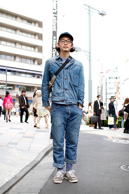 Drop Tokyo Street Style - Area- Harajuku,Tokyo | 原宿,東京 Name- Hisato Kato | 加藤久人