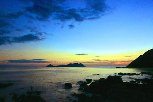 sunset sea sky cloud japan pentax yamaguchi kr 365 project365