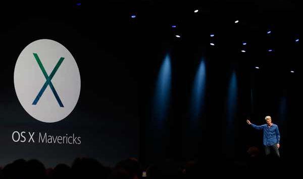 дата выхода Mac OS X Mavericks
