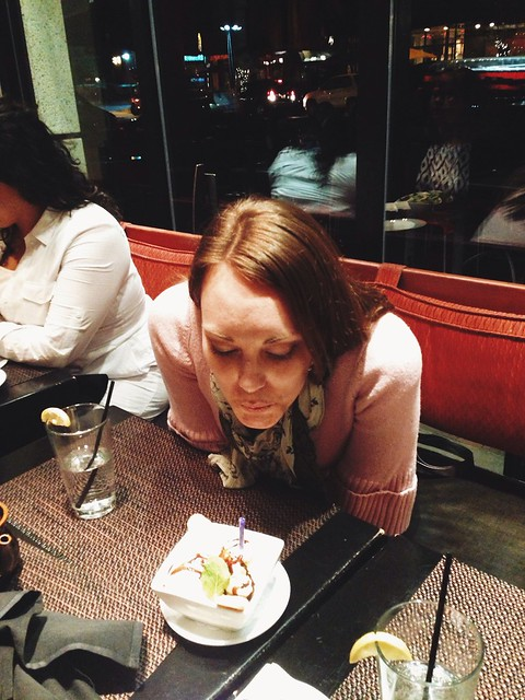 Jessica's sushi birthday