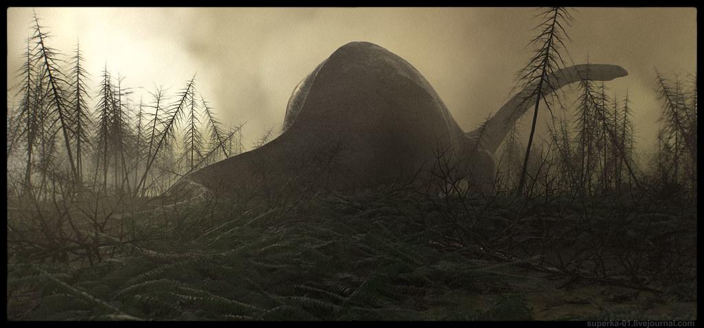 Diplodocus. The Lost World.