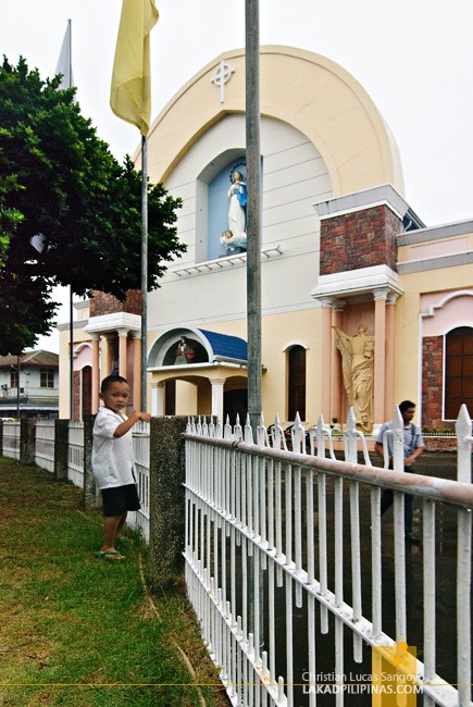 At the Ozamiz Cathedral