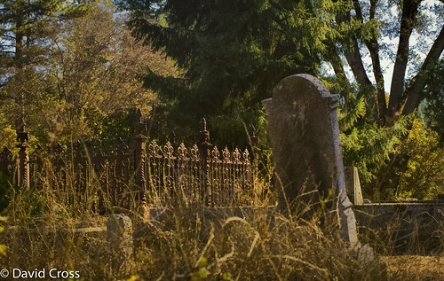 california autumn fall cemetery graveyard northerncalifornia fence 50mm headstones nevadacity goldcountry nevadacounty sierranevadarange sierranevadafoothills canon50mmcompactmacro canon7d lightroom5 topazsw