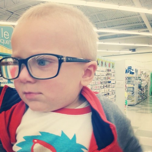 Babies in glasses are the cutest
