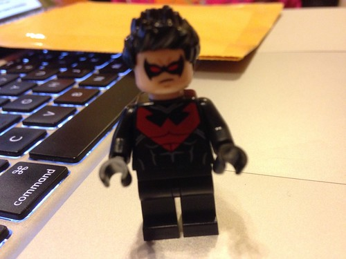 LEGO DC Universe Super Heroes The New 52 Nightwing Minifigure
