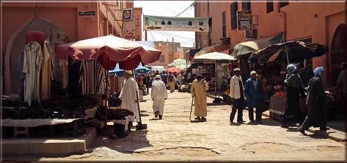 tinghir street life